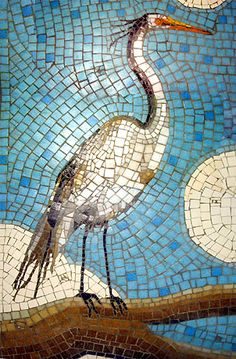 Untitled Document Mosaic Rocks, Pebble Mosaic, Wood Mosaic, Pebble Art, Mosaic Glass, Mosaic Animals, Mosaic Birds, Mosaic Crafts, Mosaic Projects