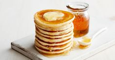 Just add your favourite fruit to these easy-to-make pikelets. Baby Food Recipes, Baking Recipes, Sweet Recipes, Snack Recipes, Kid Recipes, Cheap Recipes, Snacks, Pikelet Recipe, Childrens Meals