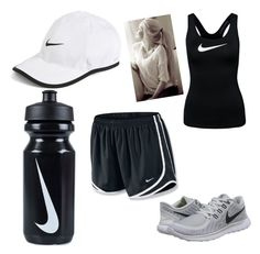 """""""Batting cages outfit"""" by madi2003-1 on Polyvore featuring NIKE"""