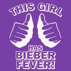 Funny justin bieber t shirt This GIRL has BIEBER FEVER T Shirt concert beiber. $12.00, via Etsy.