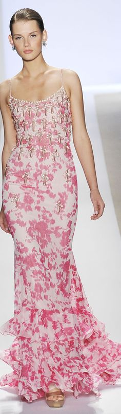 Badgley Mischka it is lovely the color fresh and who wouldn't fall for a pink Badgley Mischka?