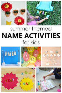 Preschool Reading Activities, Preschool Family, Name Activities, Preschool Lesson Plans, Preschool At Home, Summer Activities For Kids, Toddler Activities, Preschool Centers, Kindergarten Literacy