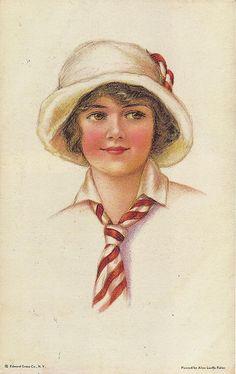 Alice Luella Fidler, American Girl No. 64, 1900s