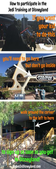 How to participate in Jedi Training at Disneyland