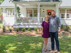 Ben and Erin Napier help an artist, with a penchant for front porches, find and create a picture-perfect home.