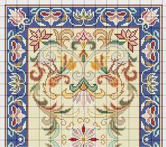 Cross Stitch Embroidery, Cross Stitch Patterns, Pixel Design, Chart Design, Persian Carpet, Plastic Canvas, Needlepoint, Needlework, Bohemian Rug