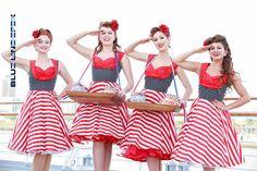 Pin Up Dress USA American Flag Dress Stars Stripes Vintage Rockabilly Dress 50s Retro Swing Independence Day Dress Plus Size Party Dress