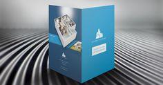 [Free Template] Real Estate Pocket Folder & Brochure on Behance
