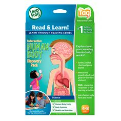 LeapFrog LeapReader Tag Interactive Human Body Discovery Pack | Toys R Us Australia
