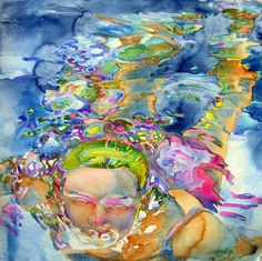 Carol Carter is a contemporary watercolor artist based out of St Louis, MO. She is such a prolific painter that it proved nearly impossible to select just seventeen images to feature out of the hundreds documented throughout her website. Her subject matter is incredibly varied, ranging from