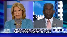 Allen West (VIDEO) with Greta: HAMMERS Obama on his leadership and projecting a weak America - Allen West Republic