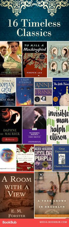 Trying to do a 2017 book challenge? Take a look at this list of classic books worth reading. | classic novels reading list