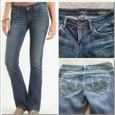Silver Lexi jeans Great condition 32/33 Silver Lexi jeans. Great condition inseam:33 Buckle Jeans
