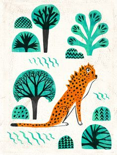 Jungle jaguar on Behance