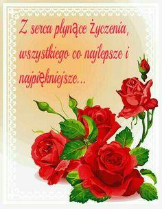 Z okazji...💙💜🍀🌷🌹 Birthday, Polish, Pictures