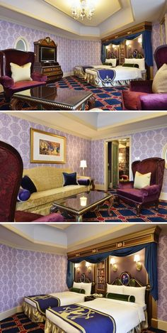 Hotel Room Envy -Tokyo Disneyland Hotel's New Themed Rooms