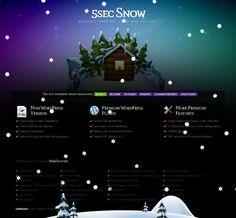 5sec Snow Wordpress Plugin - Download plugin here : http://codecanyon.net/item/5sec-snow/851002?ref=pxcr