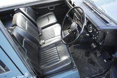 Interior of the Series III Safari wagon is actually quite comfortable. (Picture courtesy Bonhams).