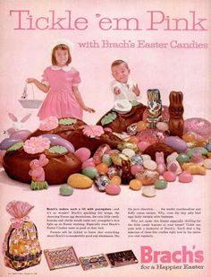 vintage brachs easter candy