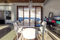 Jager House, a private residence in Park City, Utah designed by Park City Design Build; via @HomeDSGN