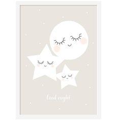"NEW ! Affiche ""Good Night"" | Zü on l'a aussi (future chambre d'Eden)"