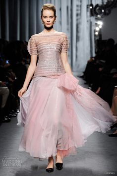 Chanel Spring/Summer 2011 Couture bridal gown inspiration