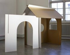 less is more? love this simple play den designed by Sofia Öberg