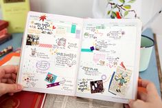 I love the way filled-in Korean planners look!