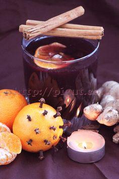 © PIGUT : Jus de raisin épicé façon vin chaud