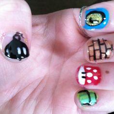 Mario nails :)