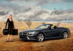 2012 Mercedes SL Roadster x Lara Stone Video