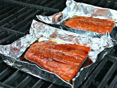 Best Grilled Salmon - perfectly grilled salmon with a slightly sweet and smoky flavor.