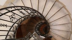 The Spiral Stairs St.Stephen's Basilica. Budapest, Hungary