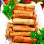 Filipino Recipes, Asian Recipes, Filipino Food, Wrap Recipes, Ethnic Recipes, Filipino Egg Rolls, Frozen Egg Rolls, Lumpia Shanghai, Lumpia Recipe