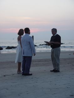 A Wedding with Rev. Schulte