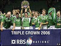 2006 - Ireland Triple Crown winners