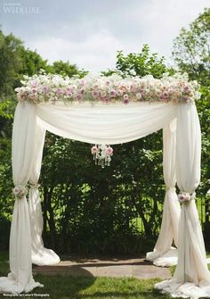 30 Floral Wedding Arch Decoration Ideas | Pinterest | Ceremony arch ...