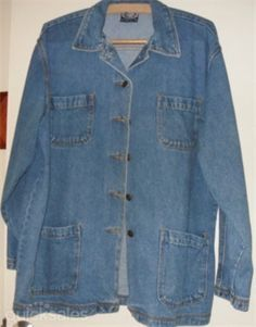 BLUE RIDGE size 16 womens jeans jacket - as new  by quickbuys - $12.00
