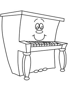Print Piano Music Coloring Pages coloring page & book. Your own Piano Music Coloring Pages printable coloring page. With over 4000 coloring pages including Piano Music Coloring Pages . Sheet Music Art, Piano Music, Piano Lessons, Music Lessons, Coloring Book Pages, Coloring Sheets, Kindergarten Coloring Pages, Music Worksheets, Playing Piano