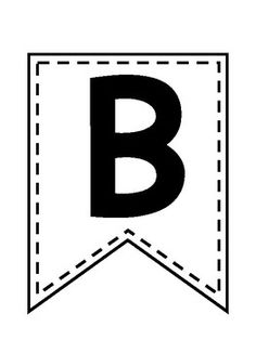 Print these letters on bright paper to create a bright WELCOME banner! Welcome Banner Printable, Printable Banner Letters, Free Banner, Happy Birthday Printable, Diy Birthday Banner, Banner Printing, Classroom Displays, Black Letter, Free Prints