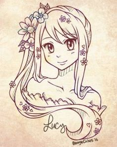 Resultado de imagen para dibujos a lapiz tumblr  fairy tail