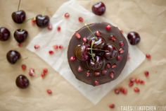 Chocolate cherry cheesecake and a big thank you