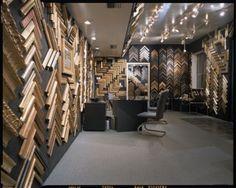 การจัดร้าน Frame Shop, Store Design, Design Ideas, Studio, Gallery, Shopping, Roof Rack, Studios, Design Shop
