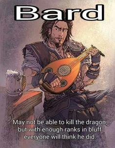 Bard, the storyteller