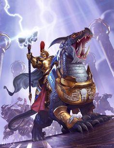 Warhammer: Age of Sigmar - Stormcast Extremis by JakeMurray.deviantart.com on @DeviantArt