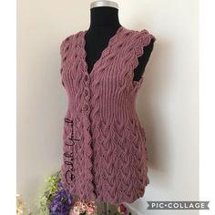 Crochet Doily Patterns, Baby Knitting Patterns, Crochet Shawl, Crochet Doilies, Knitwear, Sweaters, Dresses, Women, Fashion