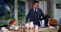 Doris Day and James Garner's lovely mid century suburban home in the 1963 film The Thrill Of It All...