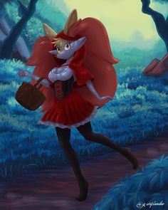 🔥Braixen Little Red Riding Hood🔥 Based on kimeratoons Braixen. Braixen Little Red Riding Hood Sexy Pokemon, O Pokemon, Pokemon Fan Art, Furry Pics, Furry Art, Kalos Pokemon, Samurai Anime, Cute Pokemon Pictures, Pokemon Starters
