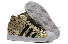 Buy 2016 Adidas Originals Superstar Femme Casual Chaussures Increased  Within Or Noir (Adidas Superstar Noir Et Blanc) MdetY from Reliable 2016  Adidas ...