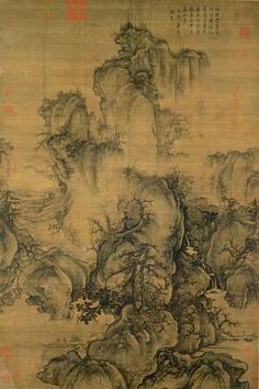 """Guo Xi, """"Early Spring"""" c.1027 Northern Song Dynasty China"""